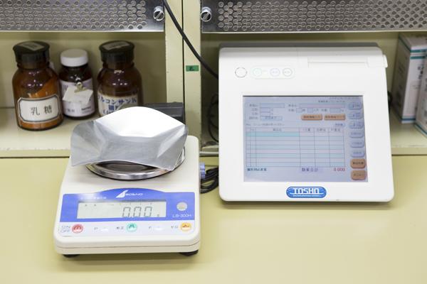 散剤調剤監査システム